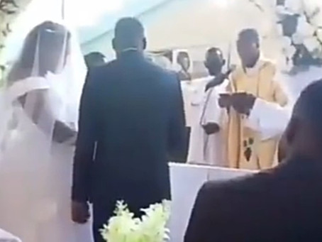 VIDEO: HE IS MY HUSBAND, WIFE SCREAMS, TO PREVENT HER HUSBAND FROM MARRYING ANOTHER WOMAN