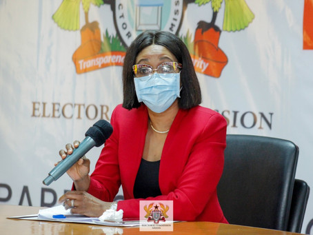 DON'T GO TO REGISTRATION CENTRES TO 'RESOLVE ISSUES' – EC WARNS POLITICIANS