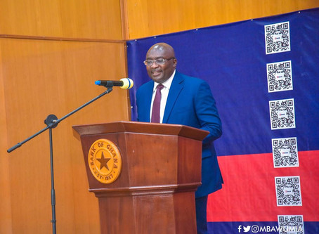 VICE PRESIDENT MAHAMUDU BAWUMIA LAUNCHES GHANA AND AFRICA'S FIRST UNIVERSAL QR CODE