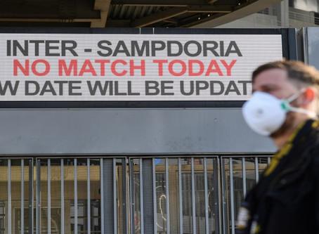 CORONAVIRUS: INTER MILAN V SAMPDORIA AMONG SERIE A GAMES POSTPONED