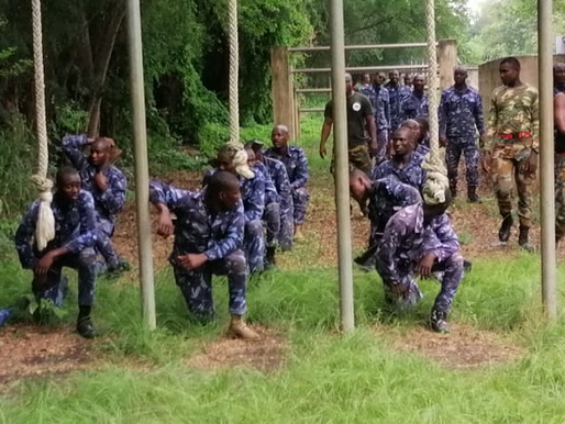 COUNTER TERRORISM UNIT (CTU) OF THE GHANA ARMED FORCES TRAINS CUSTOMS OFFICERS IN COUNTER INSURGENCY