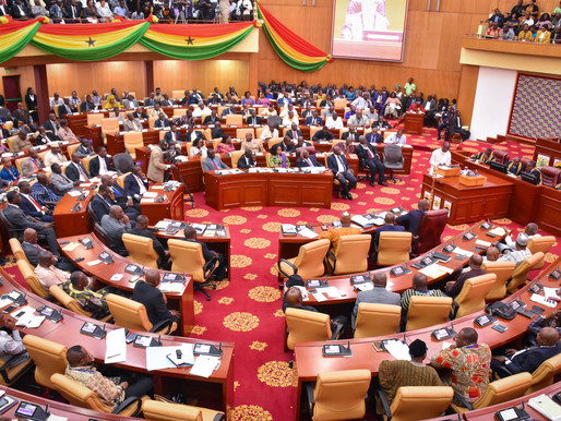 BRAWL IN PARLIAMENT AS NDC MPS 'HIJACK' CHAIRS FOR MAJORITY (VIDEO & PHOTOS)
