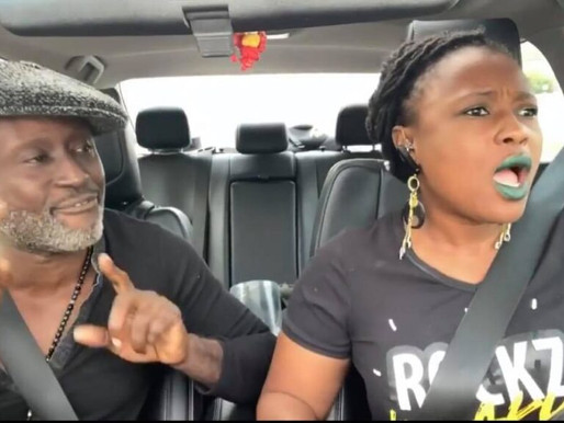 VIDEO: REGGIE ROCKSTONE & WIFE ENGAGE IN A HEATED ARGUMENT OVER PHOTOS OF A NAKED MODEL ON HIS PHONE