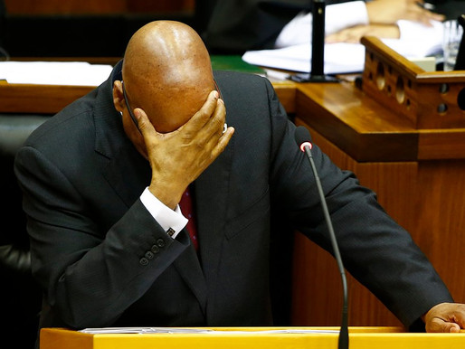 SOUTH AFRICAN FORMER PRESIDENT JACOB ZUMA BEGINS JAIL SENTENCE AFTER HANDING HIMSELF OVER TO POLICE