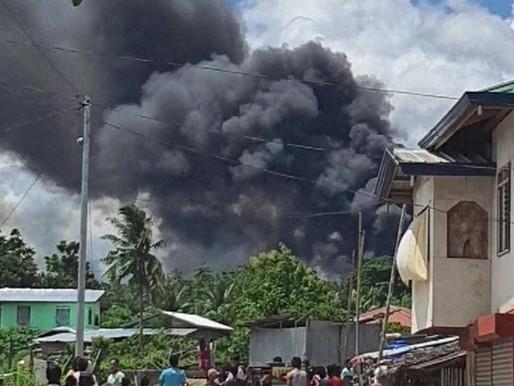 PHILIPPINES MILITARY PLANE CRASH KILLS AT LEAST 29 BUT DOZENS SURVIVE