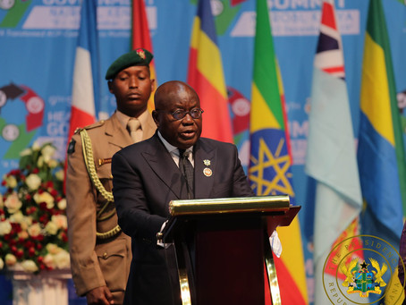 PRESIDENT AKUFO-ADDO ATTENDS UK-AFRICA INVESTMENT SUMMIT IN LONDON; WORLD ECONOMIC FORUM IN DAVOS