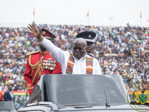 """WE ARE A BLESSED NATION AND MAKING PROGRESS"" – PRESIDENT AKUFO-ADDO"