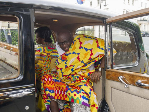 PAPA OWUSU ANKOMAH GHANA'S HIGH COMMISSIONER TO UK RECOVERING FROM COVID-19