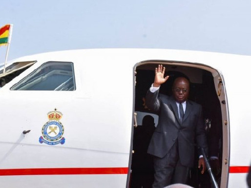 PRESIDENT AKUFO-ADDO LEAVES FOR SCOTLAND, NORWAY, UNITED KINGDOM, SWITZERLAND AND BELGIUM