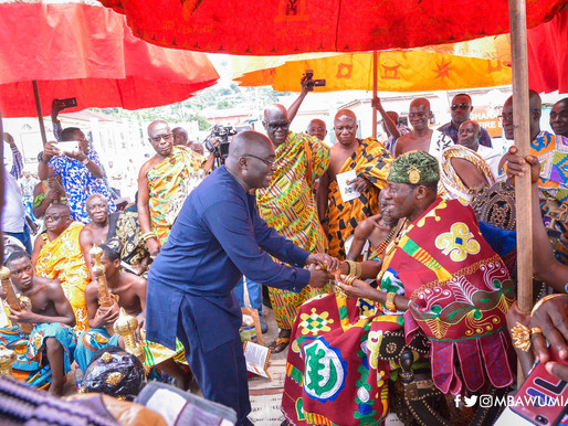 1ST PAN-AFRICAN TRADITIONAL AREA DEVELOPMENT DAY LAUNCHED IN KOFORIDUA.