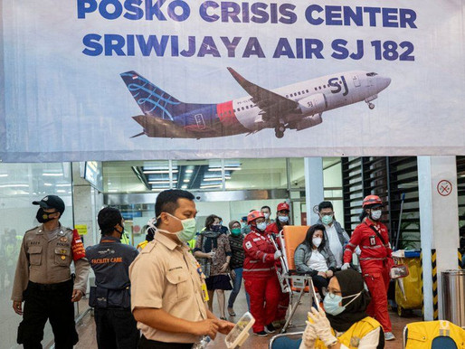 INDONESIA SRIWIJAYA AIR CRASH: DISTRAUGHT RELATIVES AWAIT NEWS