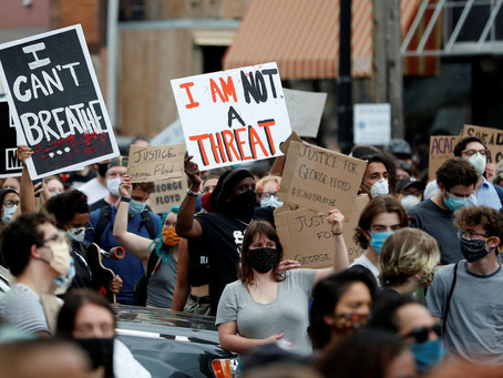VIDEO: HUNDREDS DEMAND JUSTICE IN MINNEAPOLIS AFTER POLICE KILLING OF GEORGE FLOYD