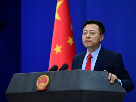 REMARKS ON GUANGDONG'S ANTI-EPIDEMIC MEASURES CONCERNING AFRICAN CITIZENS IN CHINA - ZHAO LIJIAN