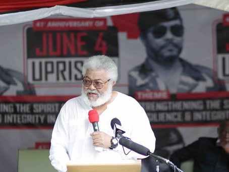 THREAT OF TERRORISM ON GHANA REAL - RAWLINGS