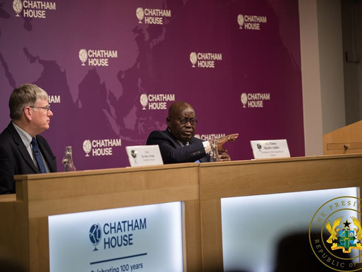 """""""REMOVE 'AFRICA RISK PREMIUM' FROM THE CREDIT RATING STRUCTURE"""" – PREZ AKUFO-ADDO TO CAPITAL MARKETS"""