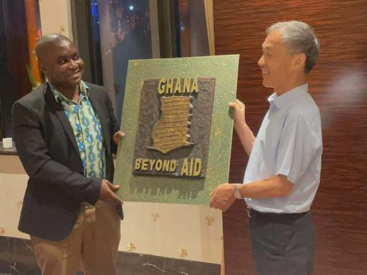 DR CHARLES DWAMENA BIDS FAREWELL TO CHINA