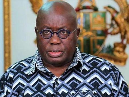 PRESIDENT AKUFO-ADDO PROVIDES UPDATE ON GHANA'S ENHANCED RESPONSE TO COVID-19
