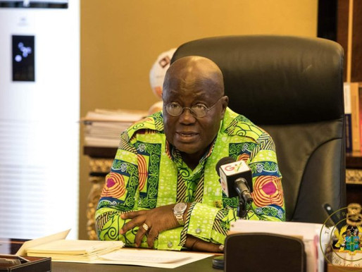COVID-19: GHANA'S ENHANCED RESPONSE TO THE CORONAVIRUS PANDEMIC - PRESIDENT AKUFO-ADDO