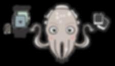 sepiida mascot sketch