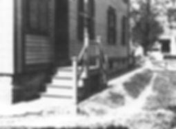 Lizzie Borden, Side door on north