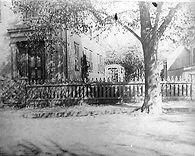 Lizzie Borden, Southwest corner, south side yard