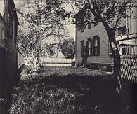 Lizzie Borden, South side yard, back of house
