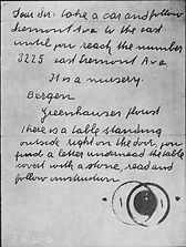 The Lindbergh Kidnapping Trial, Who kidnapped the Lindbergh Baby, The 1930s, Lindbergh Kidnapping information, Lindbergh Kidnapping pictures, Lindbergh kidnap ladder, State vs. Hauptmann, Lindbergh ransom note
