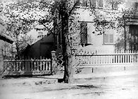 Lizzie Borden, Northwest corner with barn