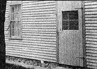 Lizzie Borden, Side barn door