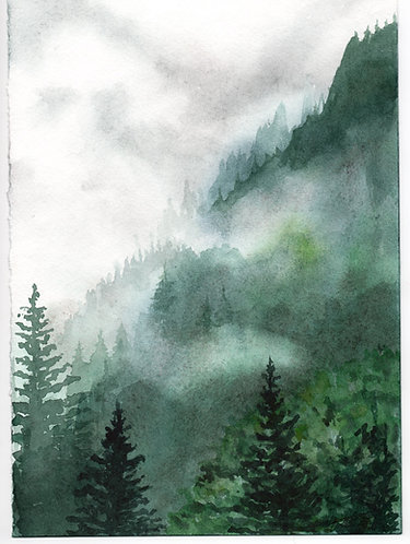 Mountain Love - Greeting Card