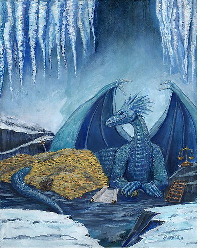The Bogard Budget Dragon, Keeper of Accounts