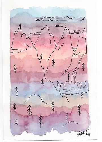 Waterfall Dreams - Print