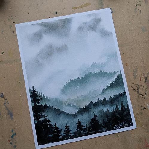 Let it Rain - Print