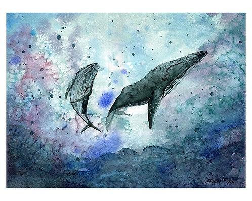 Swim Together - Print