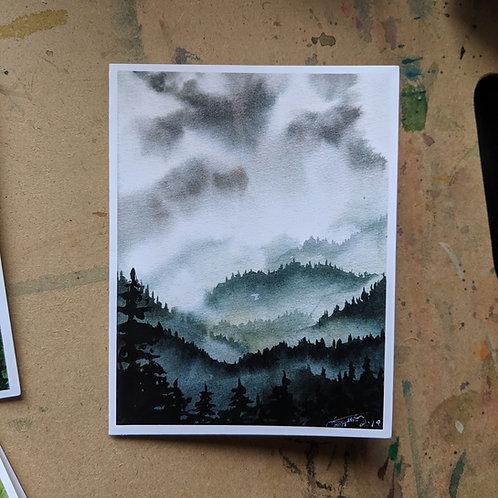 Let it Rain - Greeting Card