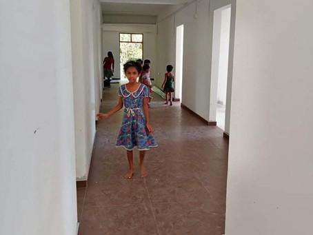 Octobre 2020: visite des lieux par les enfants