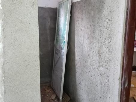 Mars 2021: escaliers et salle de bain