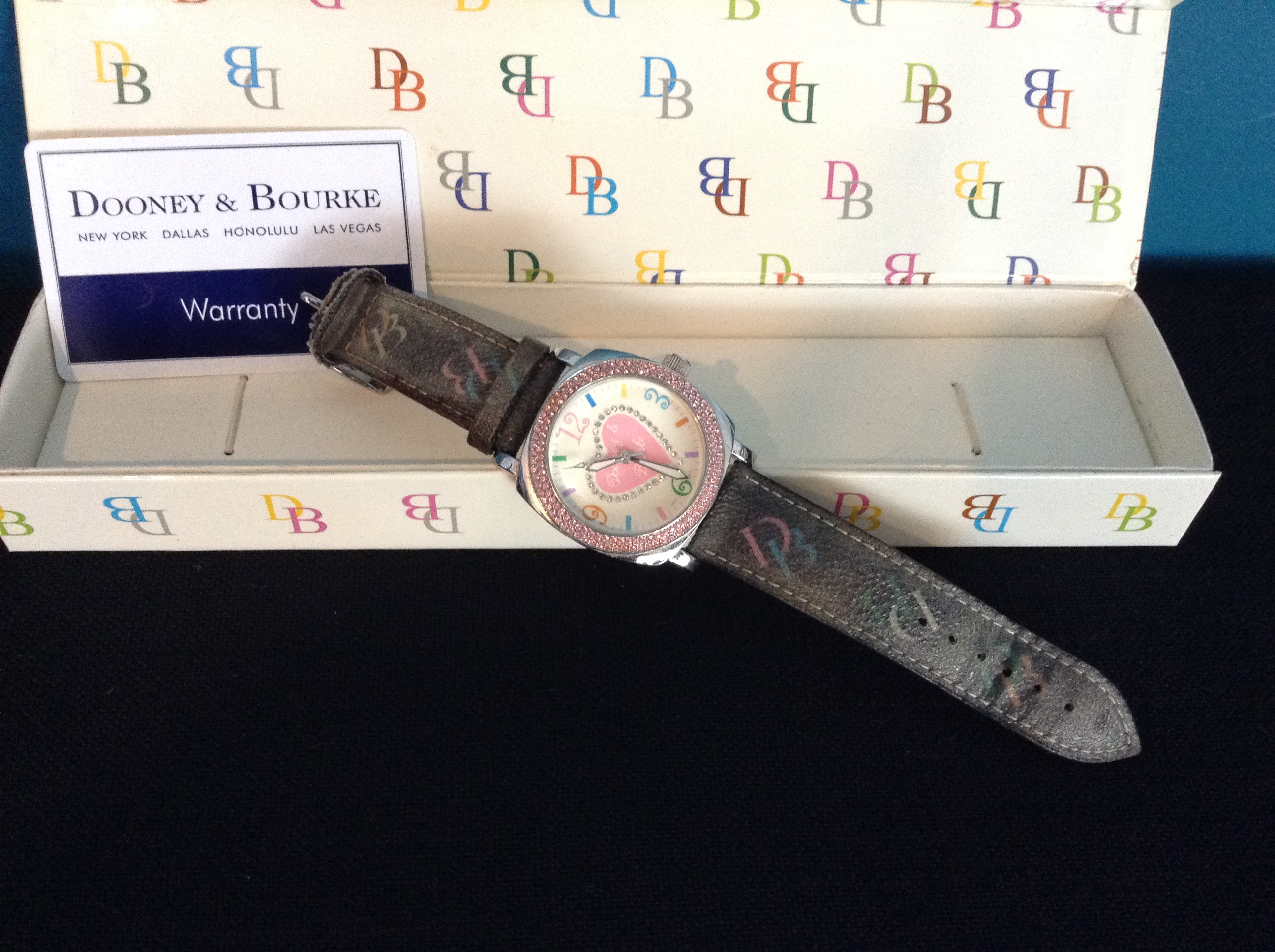 Dooney and Bourke Heart Watch (Org. $180.00)
