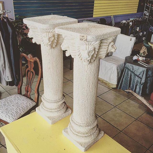 3' Fluted Columns