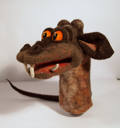 Dragon Breeze, original hand made puppet