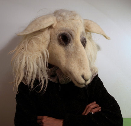 Sheep mask
