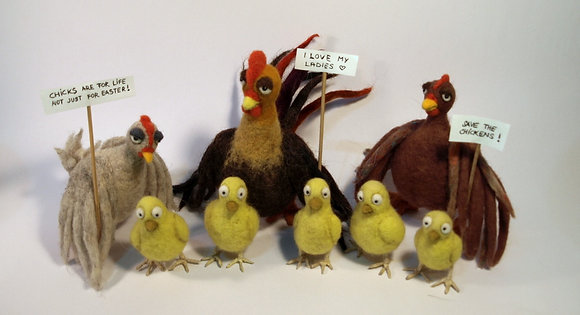 Easter chicken activism