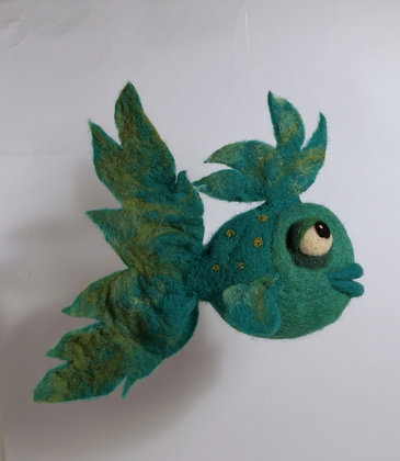 Pabla Scented Needle Felted Fish