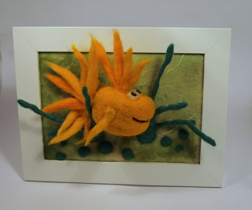 Framed Dandelion fish