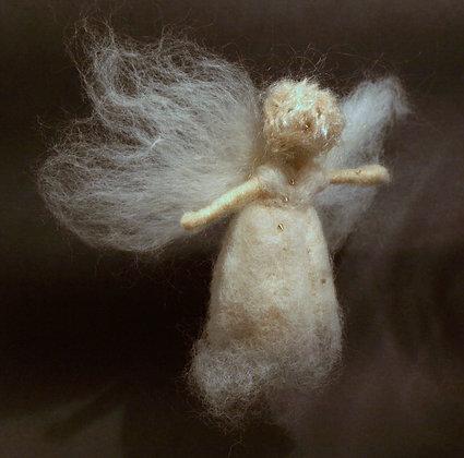 White fluffy fairy