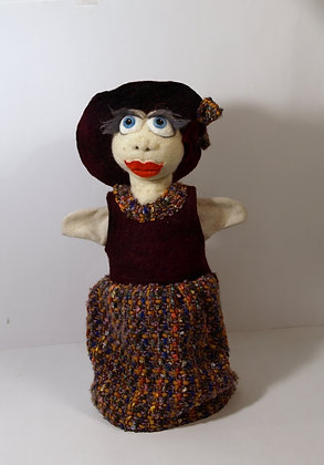 Ms Penny, glove puppet