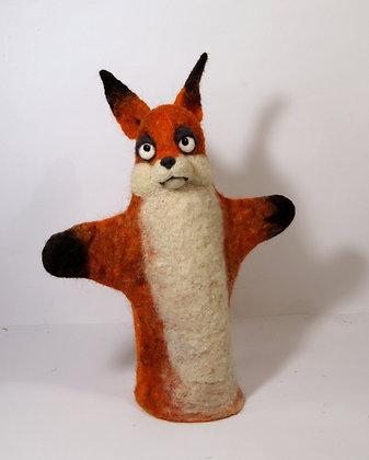Fox glove puppet