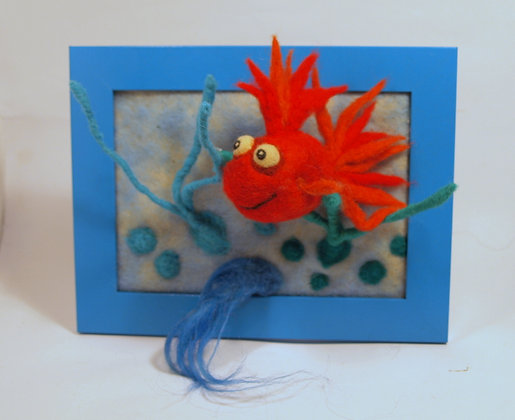 Framed Candy fish