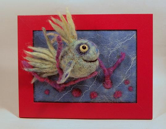Framed Arctic fish