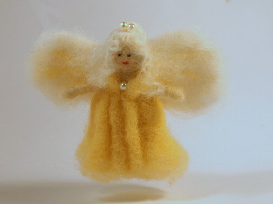 Fluffy lemon fairy